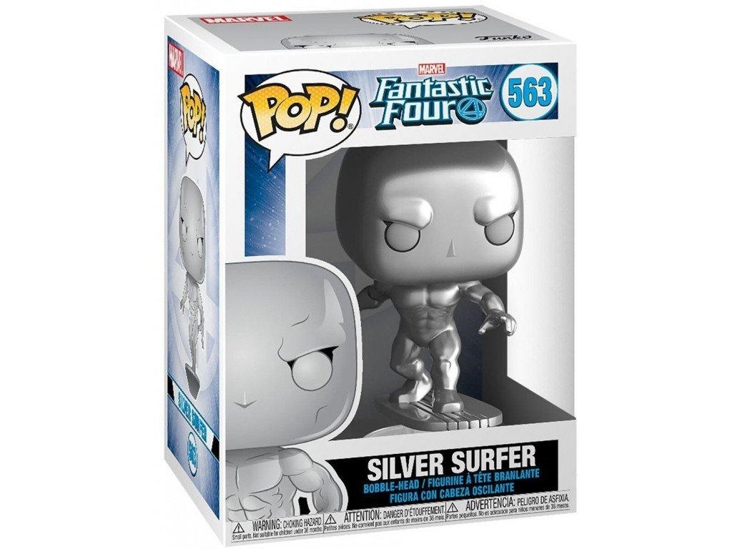 Fantastická čtyřka Funko figurka - Silver Surfer