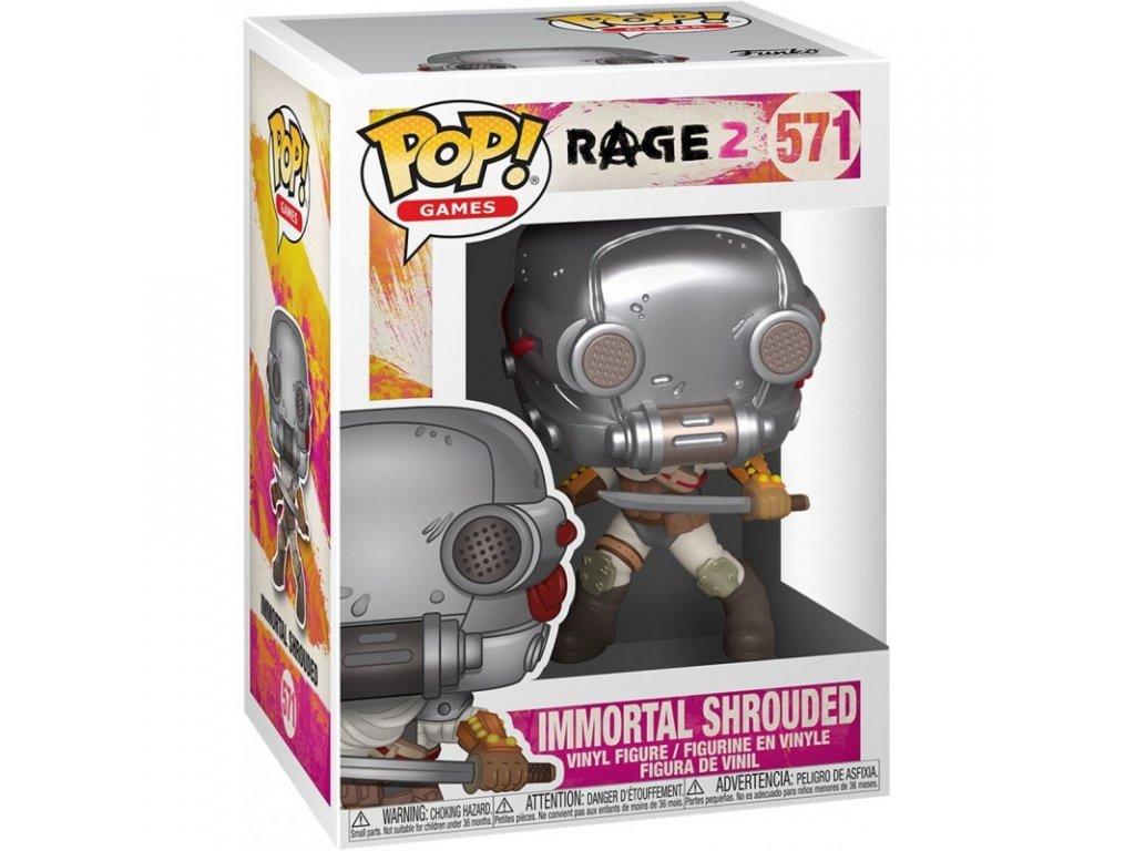 Rage 2 Funko figurka - Immortal Shroud
