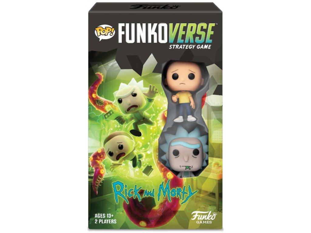 POP! Funkoverse desková hra - Rick & Morty Expandalone