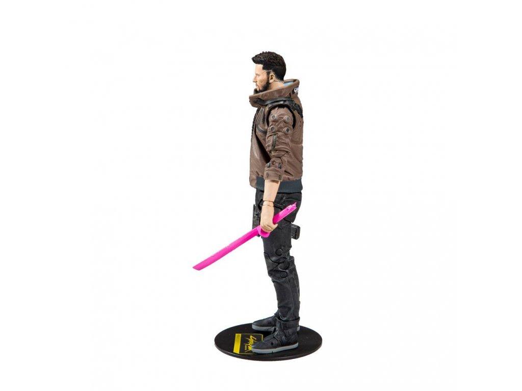 Cyberpunk 2077 akční figurka - Male V - 18 cm