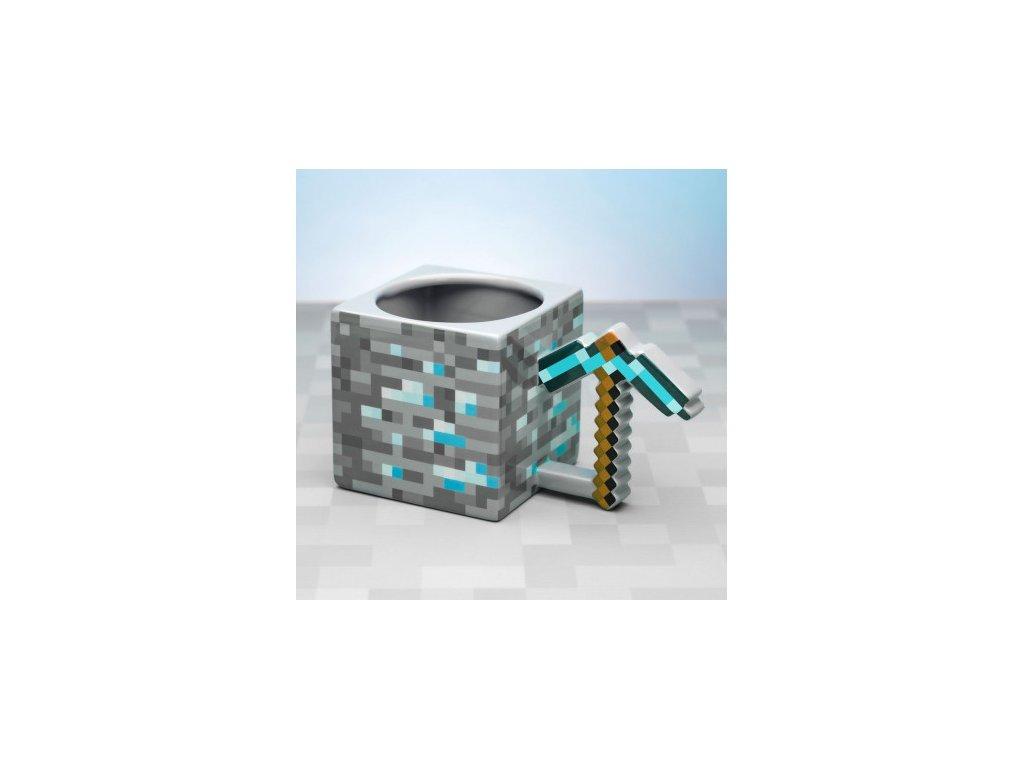 Minecraft hrnek - Pickaxe