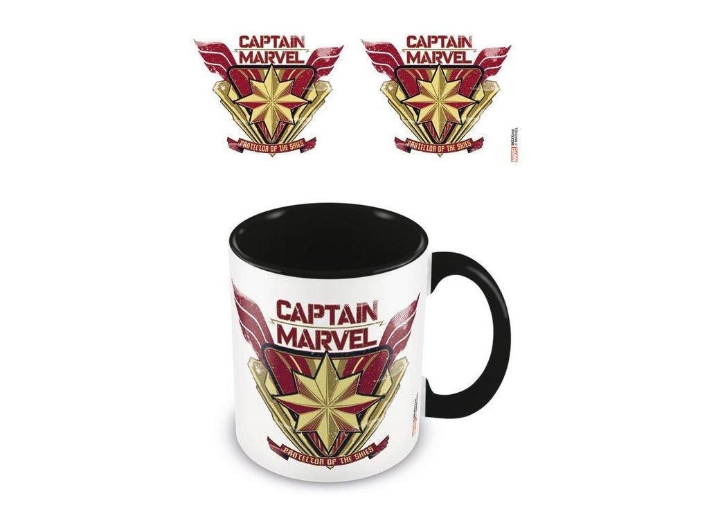 Captain Marvel hrnek - Protector