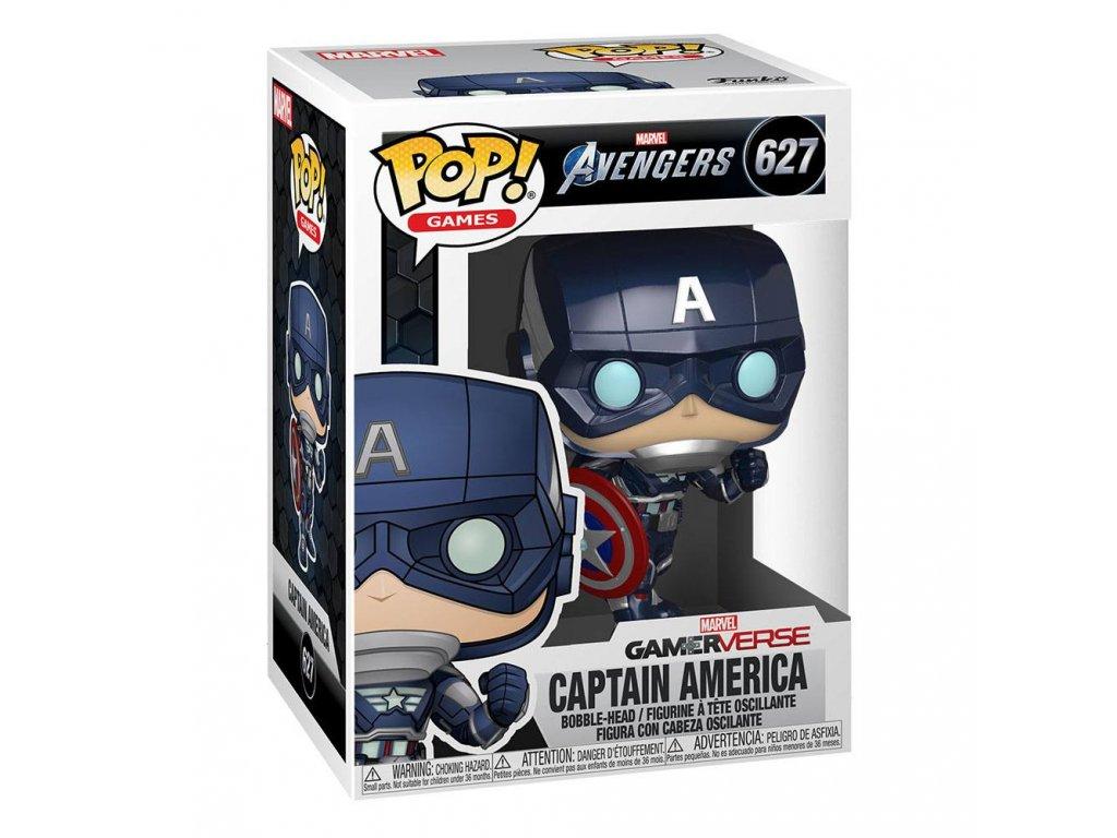 Avengers Game Funko figurka - Captain America (Stark Tech Suit)