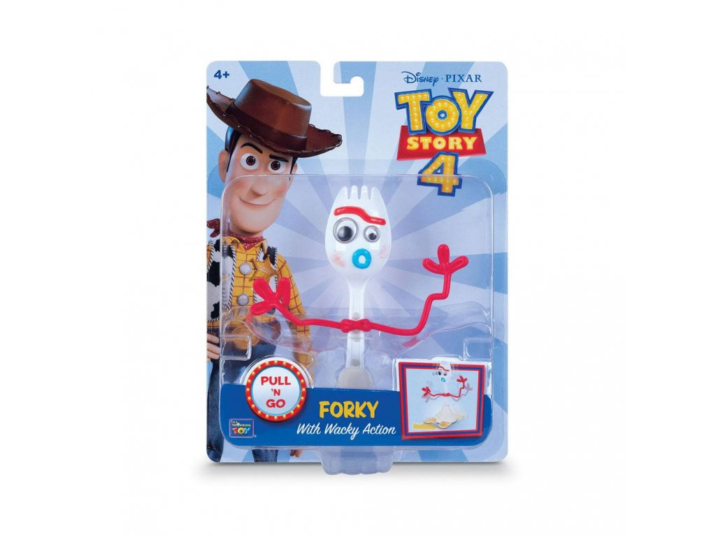 Toy Story pullback figurka - Forky (15 cm)