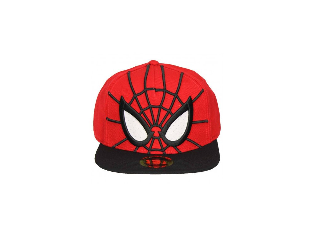 Spider-Man Snapback - 3D with Mesh Eyes
