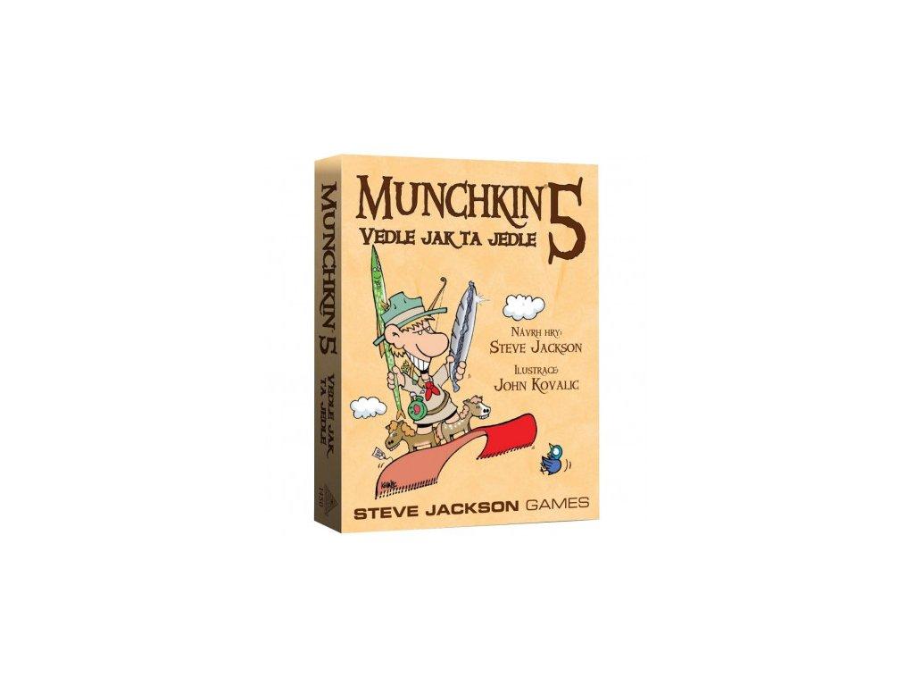 Munchkin 5 - Vedle jak ta jedle (CZ)