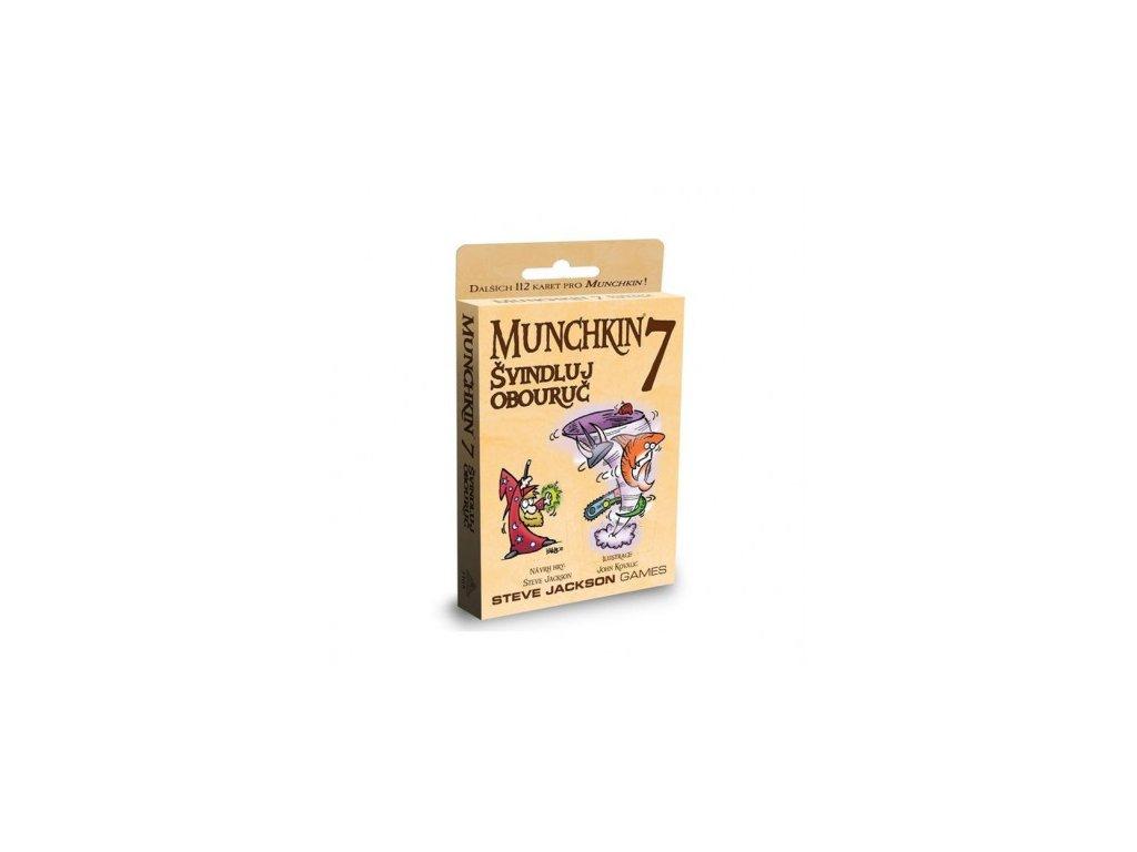 Munchkin 7 - Švindluj obouruč (CZ)