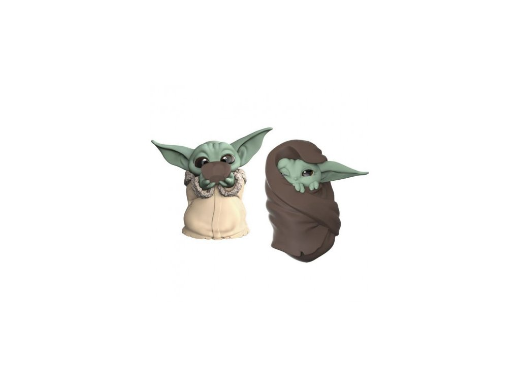 The Mandalorian Bounty Collection 2-Pack figurky - The Child Sipping Soup & Blanket-Wrapped