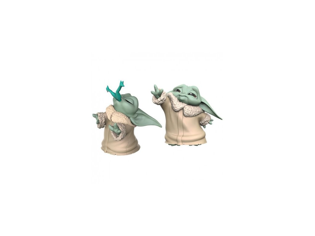 The Mandalorian Bounty Collection 2-Pack figurky - The Child Froggy Snack & Force Moment