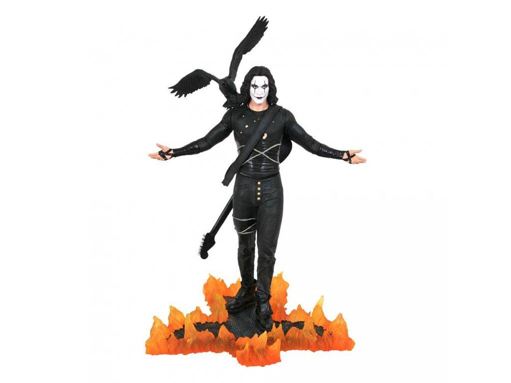 The Crow Premier Collection soška Eric Draven (1)