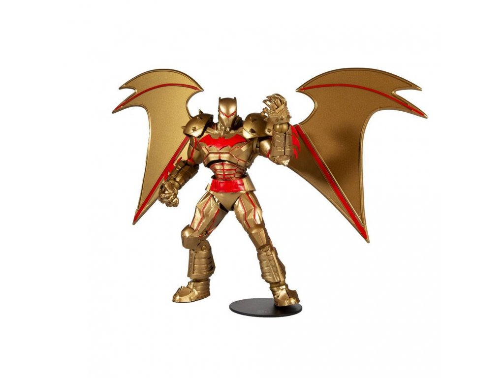 DC Multiverse akční figurka Batman Hellbat Suit (Gold Edition) (1)