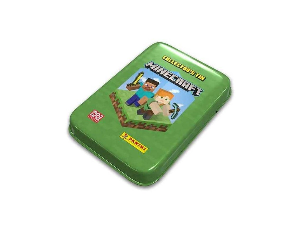 Minecraft TCG plechová krabička