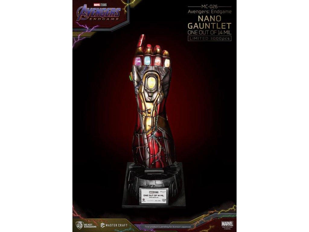 Avengers Endgame Master Craft replika Nano Gauntlet 11400605 (1)