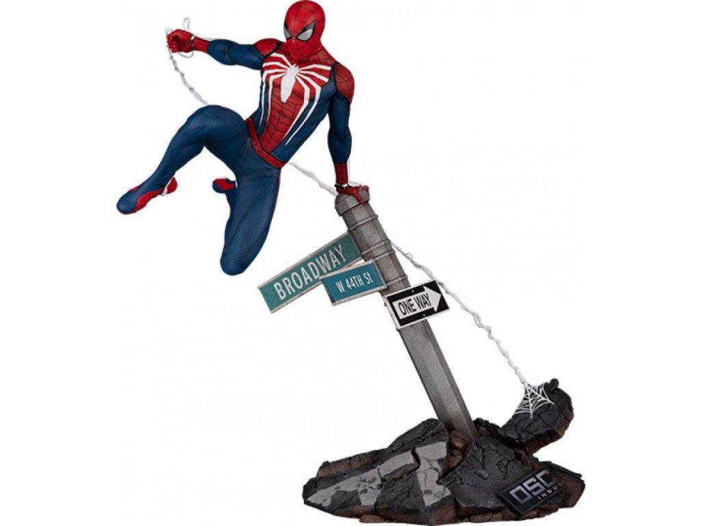 Marvel's Spider Man soška Spider Man Advenced Suit (1)