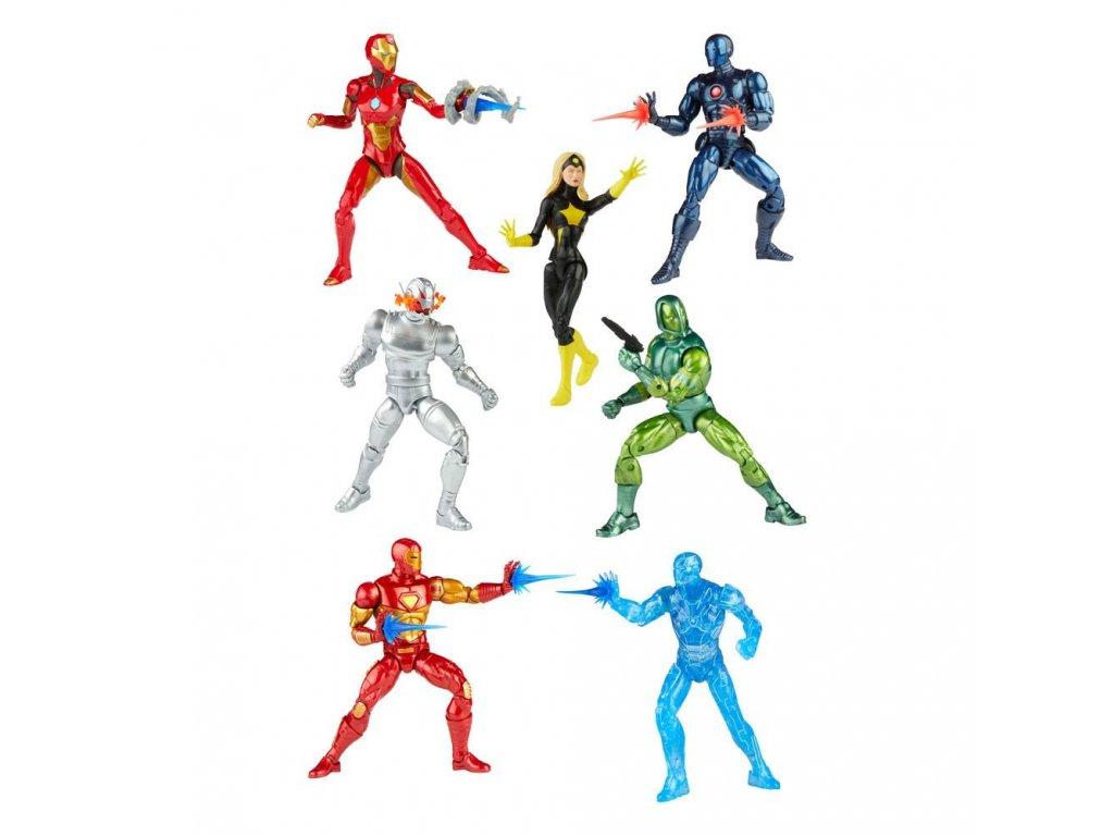 Iron Man Marvel Legends Series set akčních figurek Ursa Major (1)