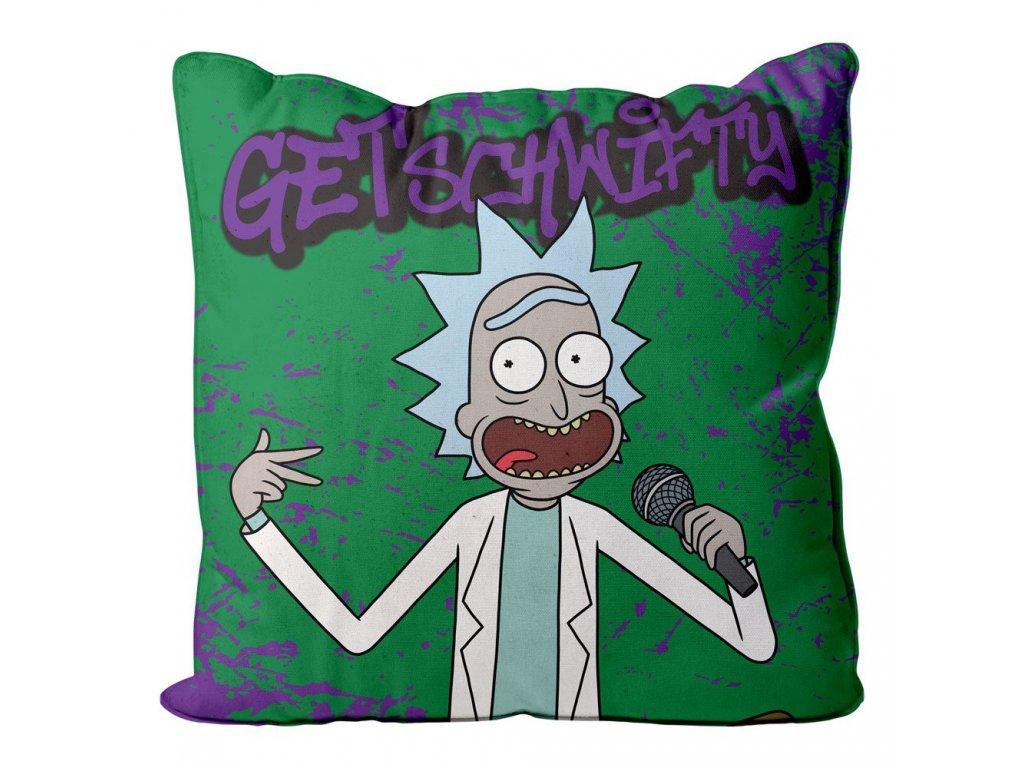Rick and Morty polštář Get Schwifty (1)