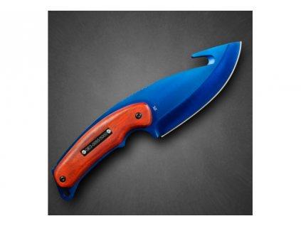 Counter-Strike Fadecase nůž - Gut Elite - Blue Steel