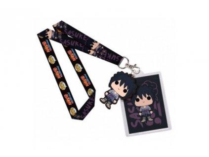 Naruto klíčenka s přívěskem- Sasuke