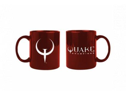 Quake hrnek - Logo