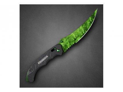 Counter-Strike Fadecase nůž - Flip Elite - Emerald