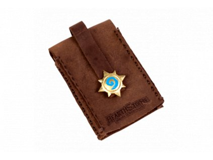 Hearthstone klíčenka - kožená kapsa