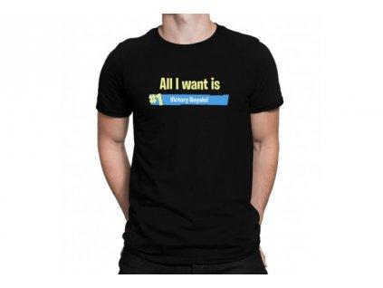 Victory royale - herní tričko