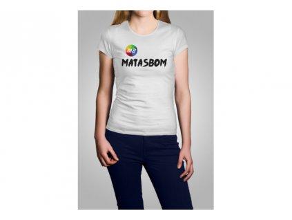 Matasbom tričko bílé