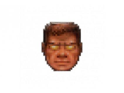 DOOM odznáček - Face