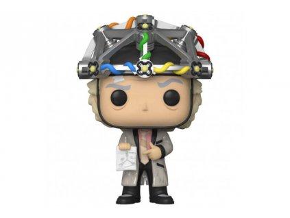 Návrat do budoucnosti - funko figurka - Doc with helmet