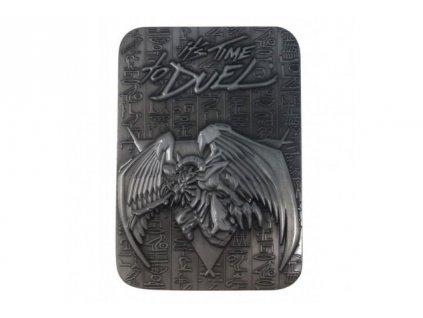 Yu-Gi-Oh! Metal God Card - The Winged Dragon of Ra