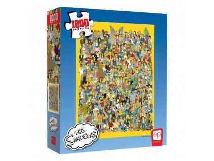 The Simpsons - puzzle - Cast of Thousands