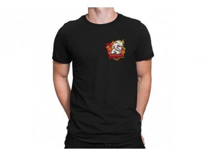 Abaddone černé tričko (malý potisk)