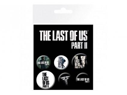 The Last of Us Part II - set odznáčků - Ellie