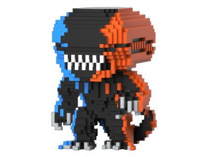 Vetřelec 8 bit funko figurka Xenomorph (oranžový a modrý) (1)