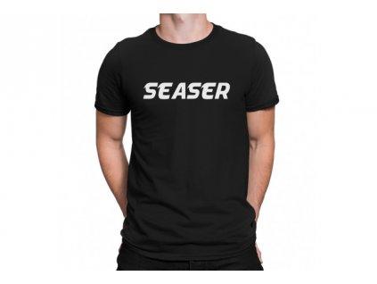 Seaser - černé tričko s logem