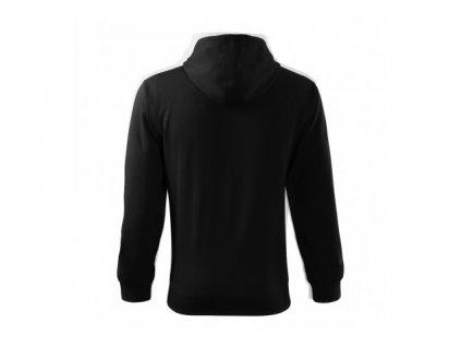 Malfix - Čau Čau černá mikina se zipem