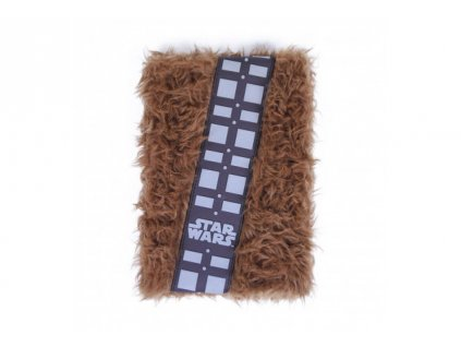 Star Wars A5 zápisník – Premium Plush Chewbacca