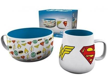 DC Comics snídaňový set – Logos