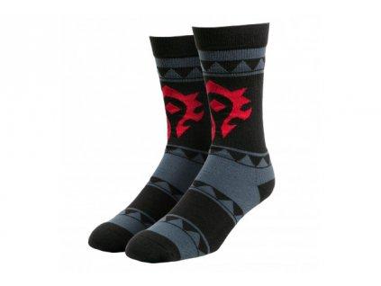 World of Warcraft ponožky – Horde (dlouhé)