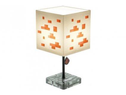 Minecraft - stolní lampička - Redstone
