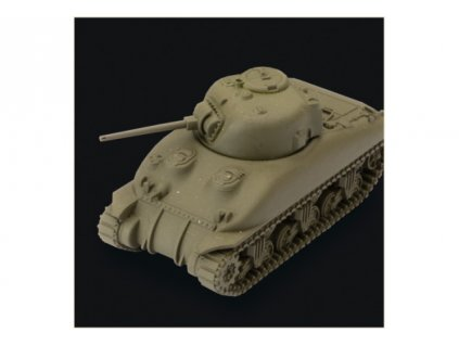 World of Tanks Miniatures - Game Expansion – M4A1 75mm Sherman