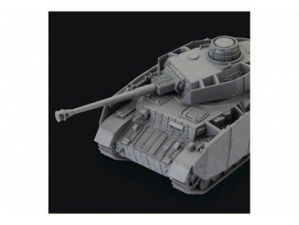 World of Tanks Miniatures Game Expansion – German Panzer IV H