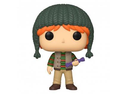 92360 Harry Potter Funko figurka Holiday Ron Weasley (1)