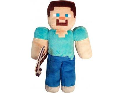 92367 Minecraft plyšák Steve (30 cm) (1)