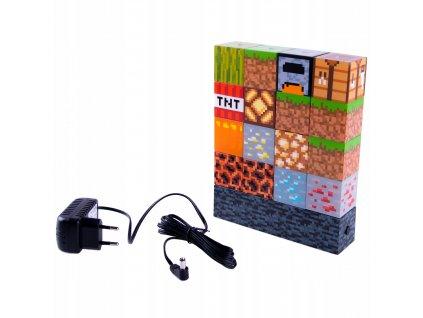 92369 Minecraft Block Building Lampička nastavitelná (1)