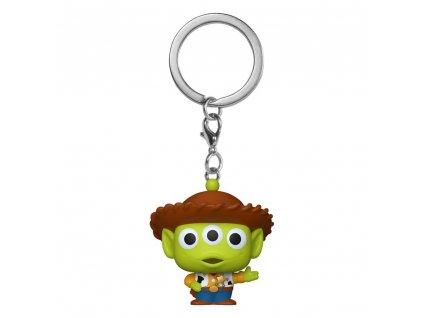92372 Toy Story (příběh hraček) Funko Klíčenka Alien as Woody (1)