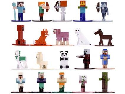jada toys minecraft 20 die cast figswv3