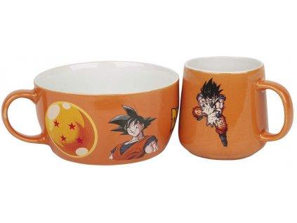92556 Dragonball Z snídaňový set Goku (1)