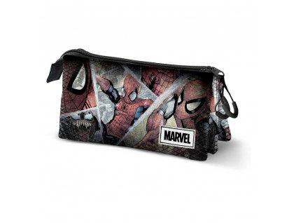 92560 Spider Man penál Collage Triple