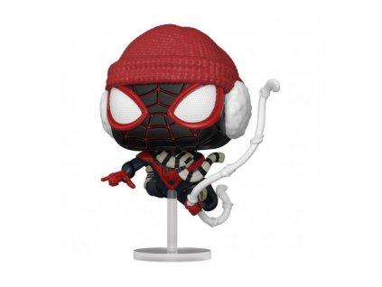Spider-man funko figurka - Miles Morales - Winter Suit